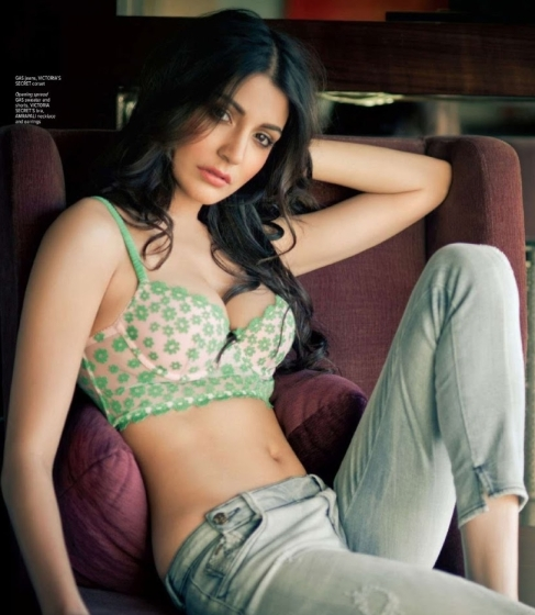 Anushka Sharma in hot lingerie..